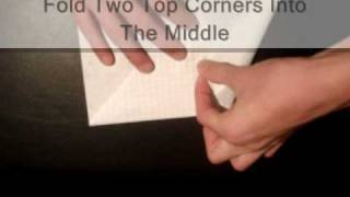 How To Make A Paper Airplane - The Moth