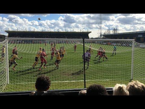 Cambridge United V Oxford United 2015/16 season Fan Eye View