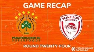 Highlights: Panathinaikos Superfoods Athens - Olympiacos Piraeus