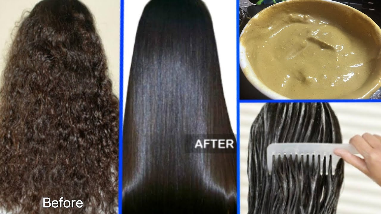 How To Straighten Your Curly Hair Naturally At Home