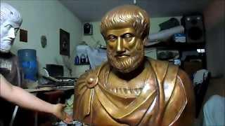Aristoteles patina y acabados