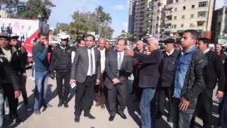 مصر العربية | محافظ الاسكندرية يتابع تجهيز مدخل  دولي