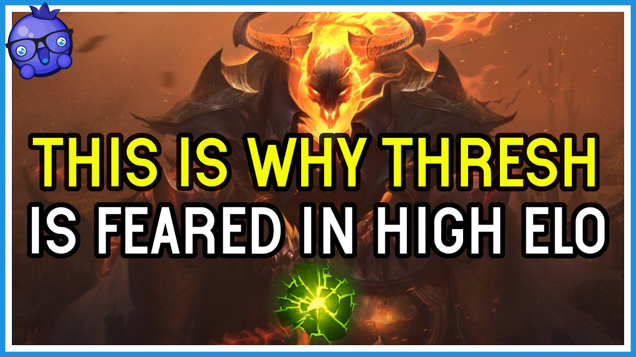 Download THIS is why THRESH is played at HIGH ELO - League of Legends