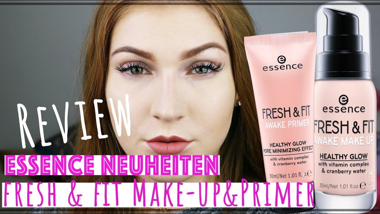 Neues Essence Make Up Im Live Test Fresh Fit Make Up Und
