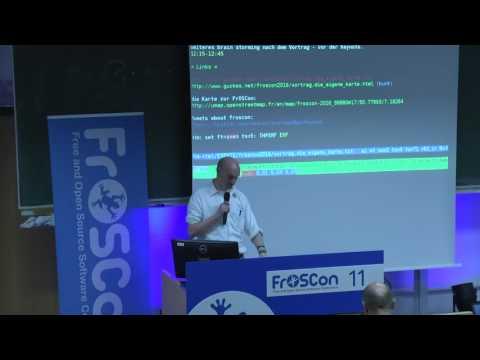 a FrOSCon Map