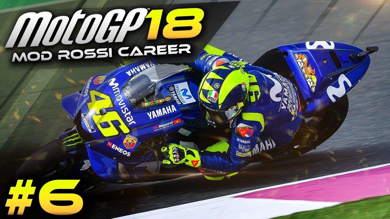 Motogp 2018 Mod Rossi Career Mode Part 6 Mugello Motogp 2018