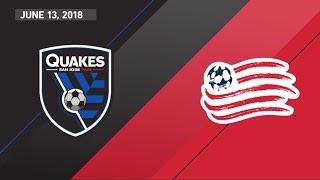 Video Gol Pertandingan San Jose Earthquakes vs New England Rev.