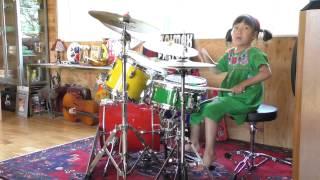 CHITAA DRUM 在間千旅 (ざいまちた)6years old 幼稚園年長 Chita Zaim...