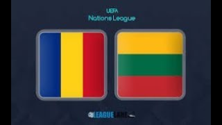 🔴 ROMANIA - LITUANIA 🔴 LIVE/Text UEFA NATIONS LEAGUE