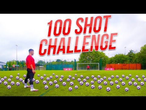 EXTREME 100 BALL SHOOTING CHALLENGE | F2Freestylers | Billy Wingrove & Jeremy Lynch Thumbnail