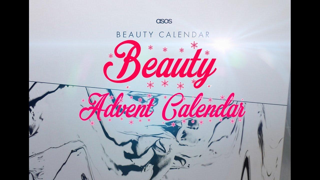 Calendrier De Lavent Beaute Asos 2016 Advent Beauty Calendar Beleza Calendário