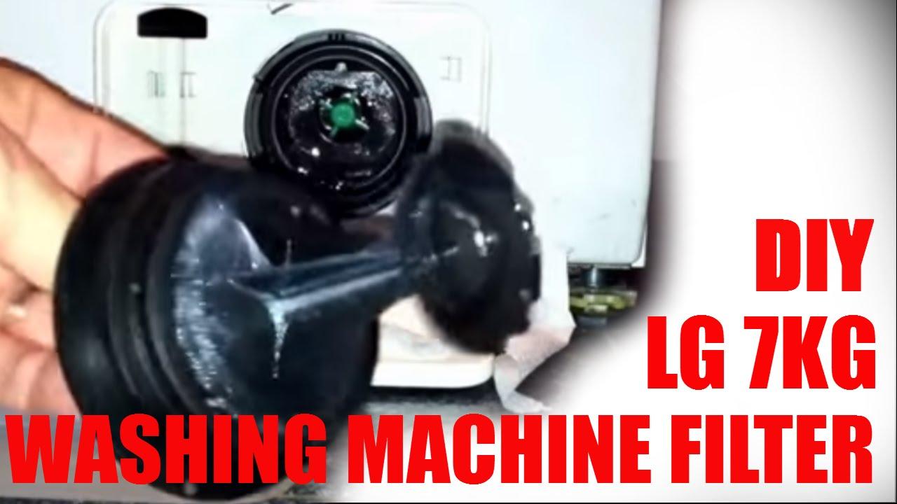 Diy Clean Filter Lg 7kg Clothing Washing Machine Model