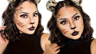 cheetah halloween makeup tutorial clip fail