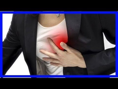 Herzinfarkt: Symptome bei Frauen - YouTube
