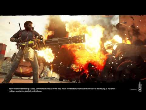 Just Cause 3 PS4 Gameplay (Long Load Time, Post Pa