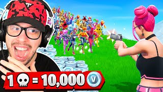 1 Elimination = 10,000 VBucks with Typical Gamer! - Challenge