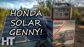 HONDA Premium SOLAR GENERATOR! 292Wh Honda 290 By Jackery Portable Power Station Review