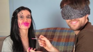 Blindfolded Makeup Challenge with BradWOTO