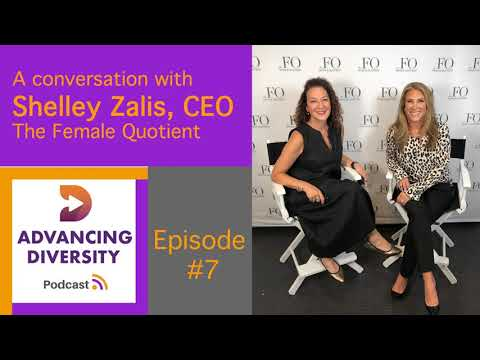 "Thumbnail for video of article: The Female Quotient's Shelley Zalis Activates Diversity Via the ""Power of the Pack"""