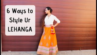 Download How To Style Lehenga In Different Ways| Gulz_beauty Mp3 and Videos