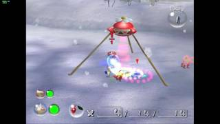 Pikmin 2 - Dolphin 5.0 Emulator - First Day test