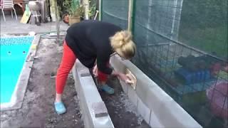 Plantenbak bouwen