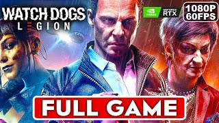 WATCH DOGS LEGION Gameplay Walkthrough Part 1 FULL GAME [1080P 60FPS PC NVIDIA RTX] No Commentary