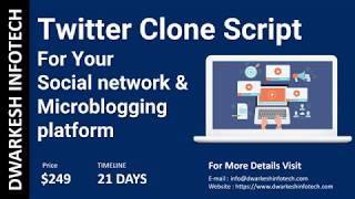 Twitter Clone script - Best Social networking website for your…
