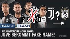 FIFA20 SKANDAL! ● OFFIZIELL! 💀 KEIN JUVENTUS TURIN ENTHALTEN!