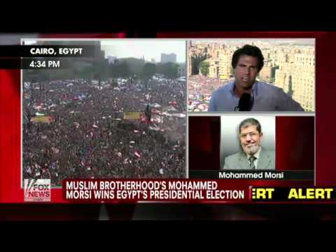 Egypt : The Muslim Brotherhood's Mohammed Morsi declared President (Jun 24, 2012)