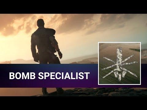 [Road to 100%] Mad Max - Bomb Specialist - Achievement Walkthrough (All minefields)