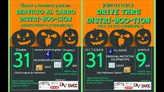 DVCC Distri-BOO-tion and Flu Shot Event 10/31/2020