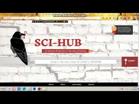 How to download scientific research papers