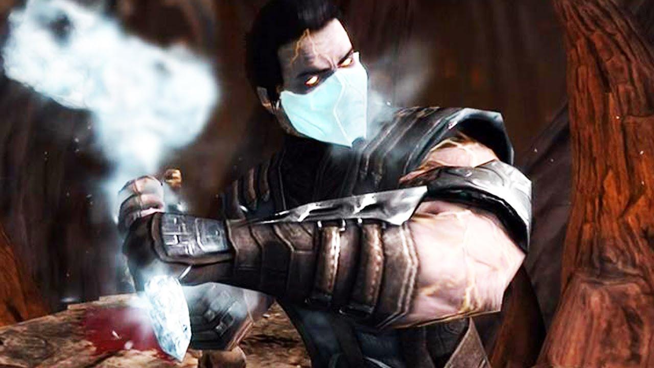 Mortal Kombat X: Revenant Sub-Zero Super X-Ray Attack