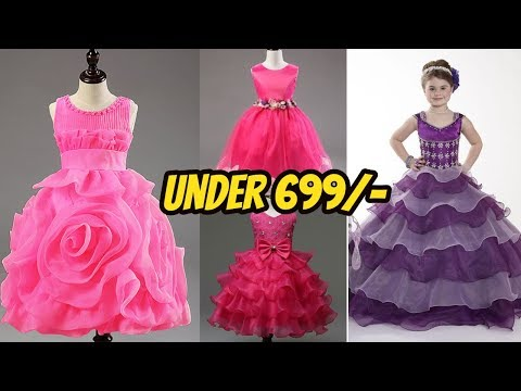 Baby Frock Below 699 Rs / party wear baby frock below 699 rs