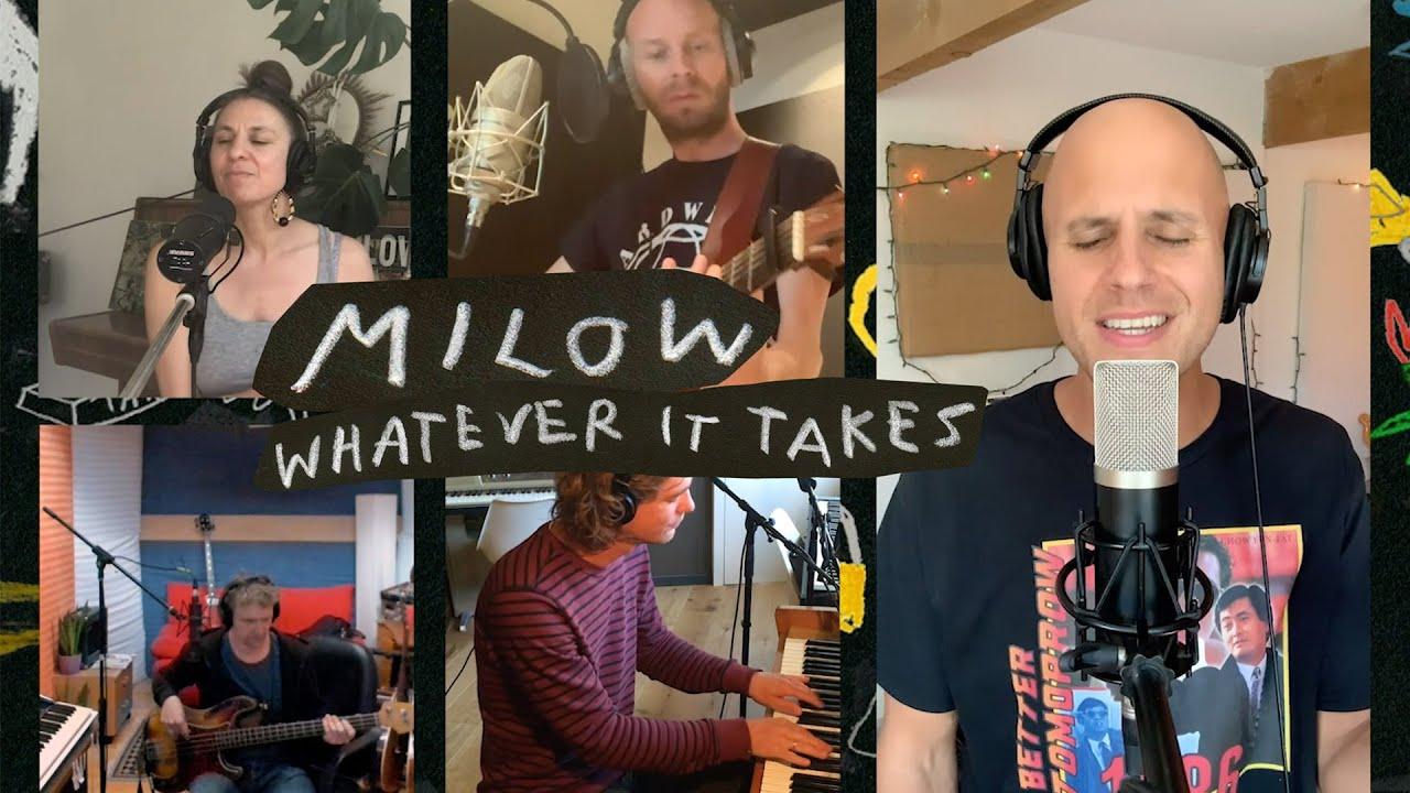 Milow   Whatever It Takes Live Lyric video