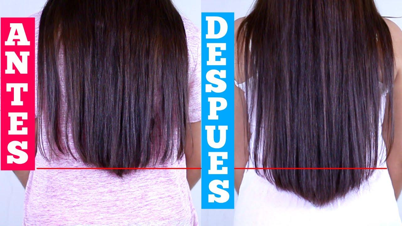 Como hacer crecer el cabello en una noche 2 cm