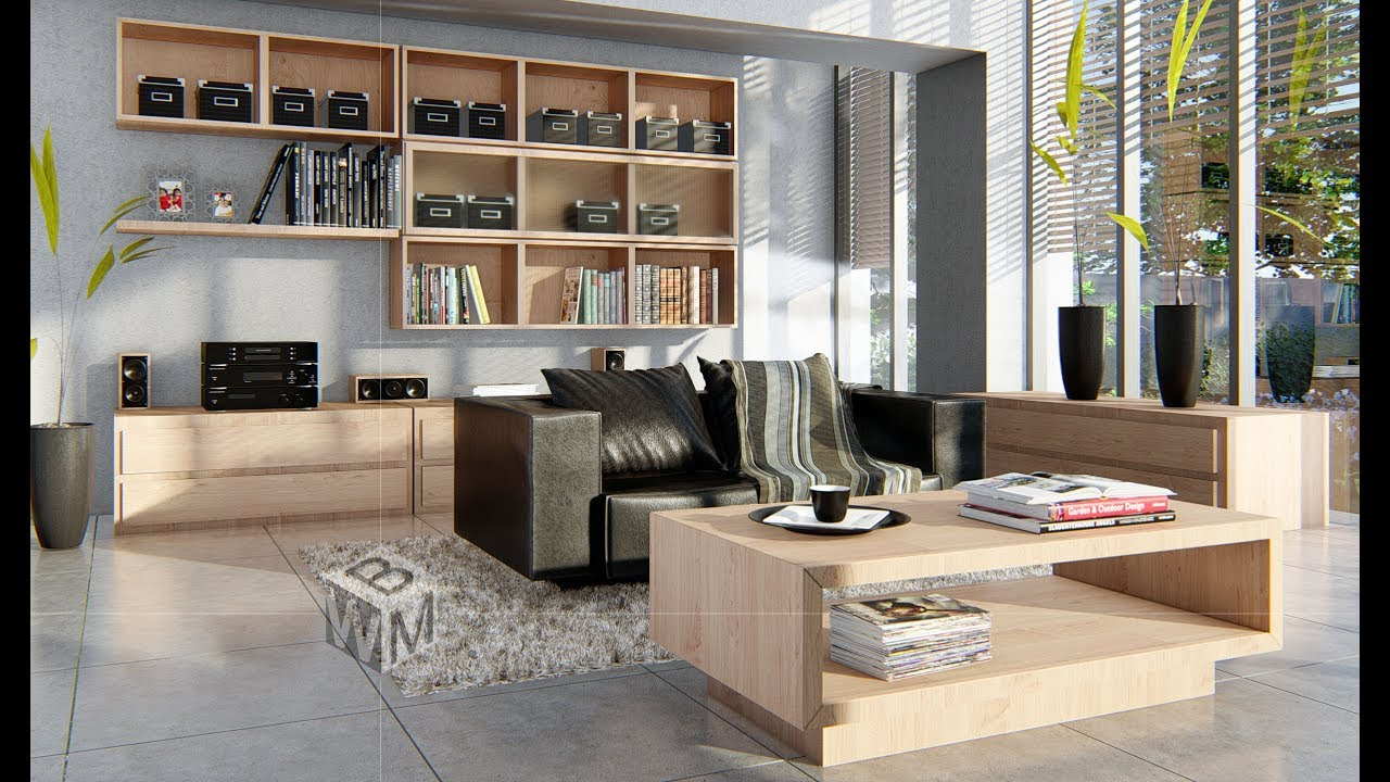 lumion interior render room living