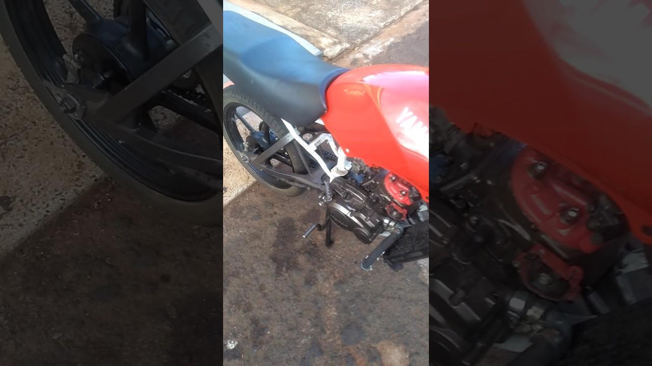 Rd 135 Com Motor De Dt 200 Youtube