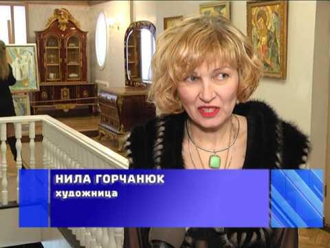 2017-02-10 г. Брест. Выставка Н. Горчанюк. Новости на Буг-ТВ.