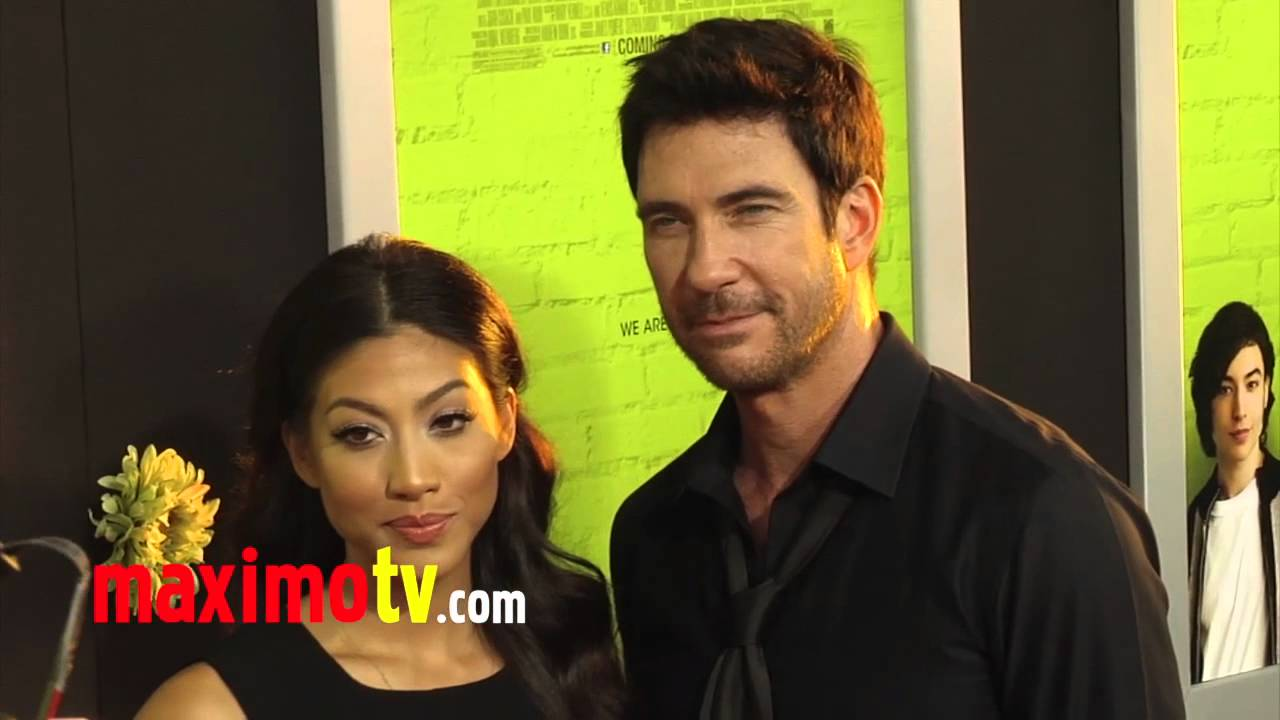dylan mcdermott and shasi wells at quotthe perks of being a