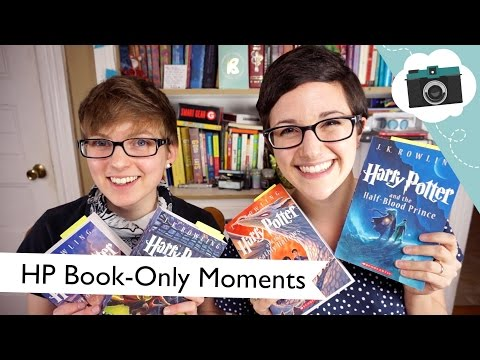 Great Harry Potter Book-Only Moments (collab with Jackson Bird!) | @laurenfairwx
