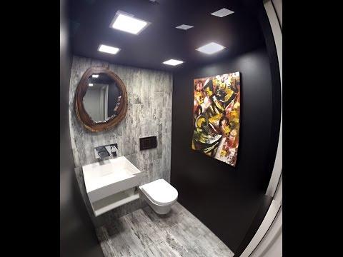 Small powder room