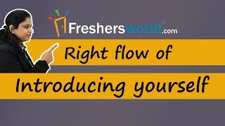 Right Flow of Introducing yourself - Effective Interview tips, Self Introduction