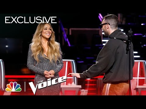 Mariah Carey Is Here and the Coaches are Losing Their Minds - The Voice 2018 (Digital Exclusive) Mp3