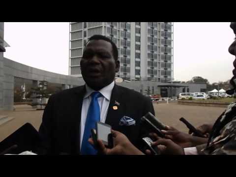 Malawi's Minister of Agriculture, Irrigation and Water Development Dr George Chaponda,
