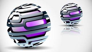 (CC)Adobe Illustrator CC HD1080p TAM 3D Logo Tasarımı oluşturma