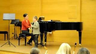 D.Hellbach:Ostinato,    Marton 6 years old