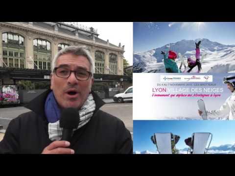 Lyon Village des Neiges: Conférence de presse du 14 oct