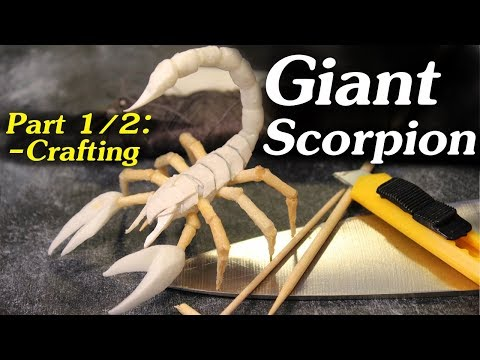 Crafting a Scorpion from Household Items (DnD Miniature Tutorial)